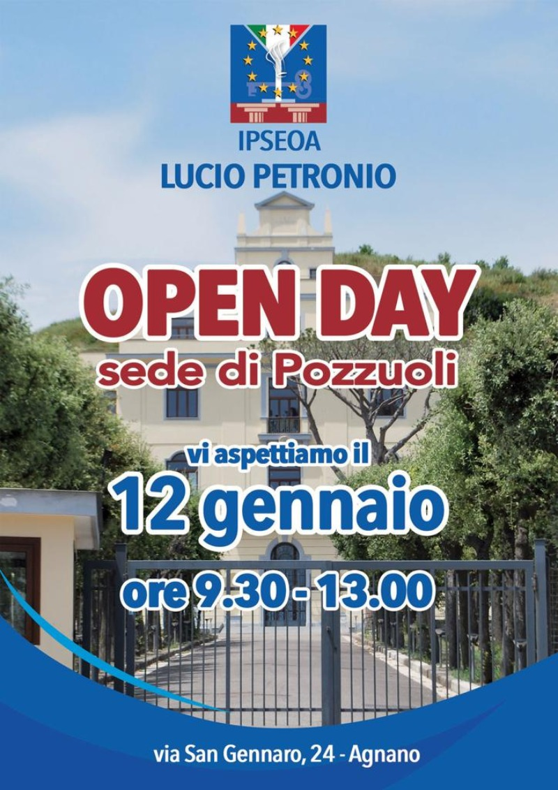 Open Day Pozzuoli