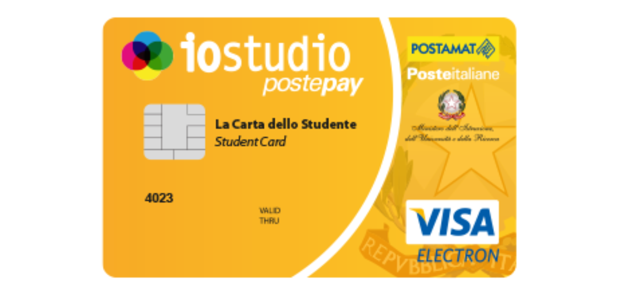 Carta dello Studente Io Studio